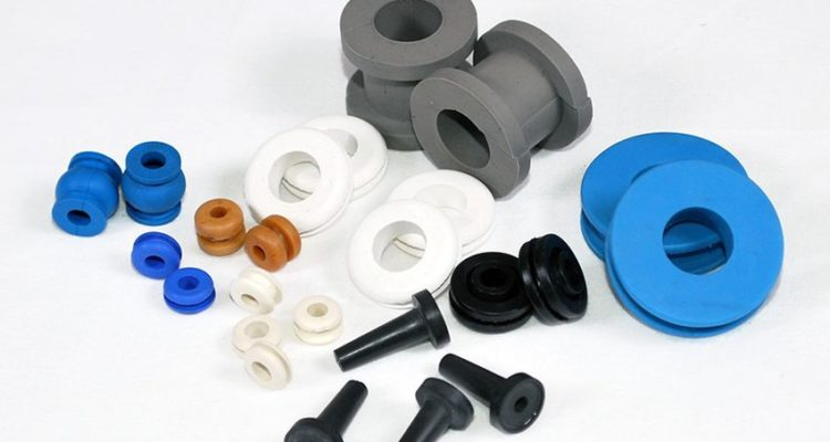 Image showing various types of rubber products